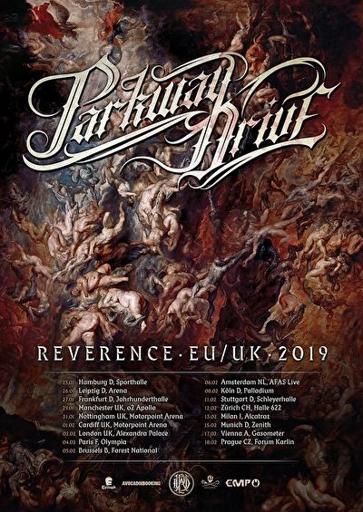 Parkway Drive Reverence EU/UK Tour 2019