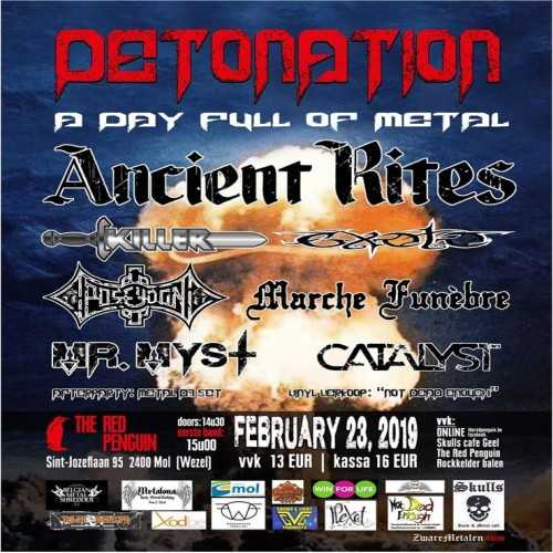 Detonation / A Day Full Of Metal review