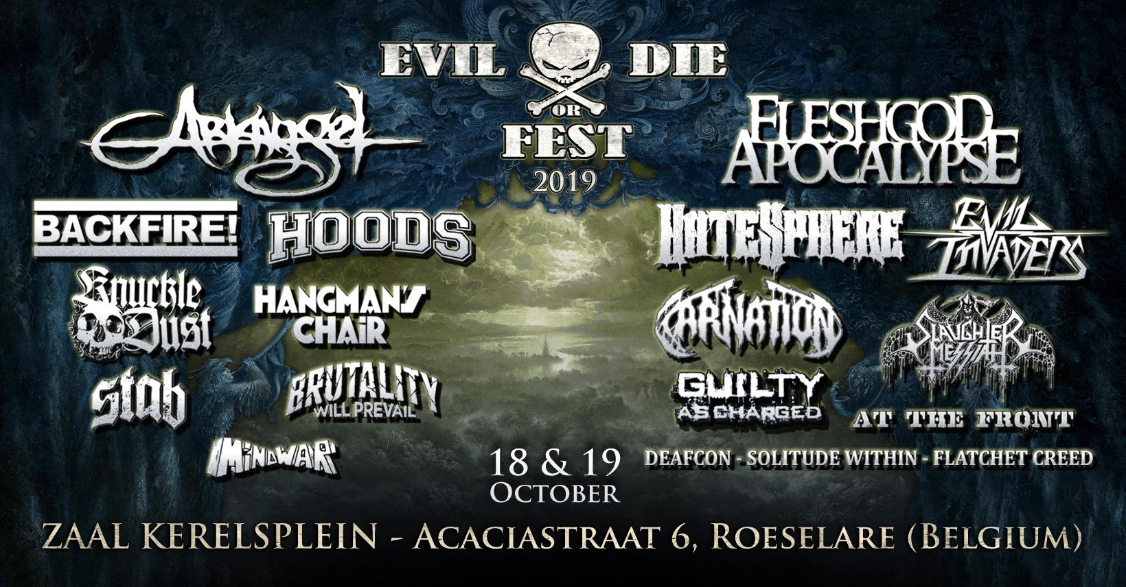 Evil Or Die Fest 2019