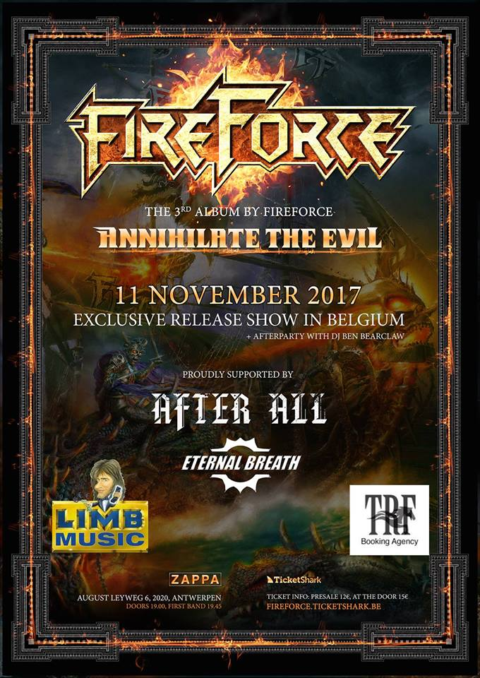 FireForce Annihilate The Evil Release Party