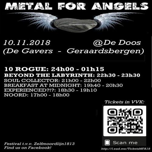 Metal For Angels 2018 review