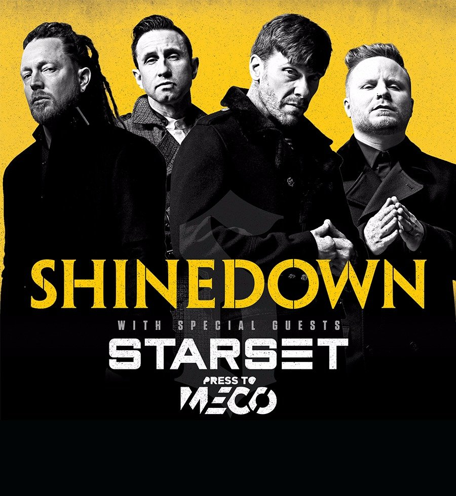 Shinedown Attention Attention Tour in TRIX Antwerpen