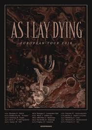 As I Lay Dying European Tour 2018