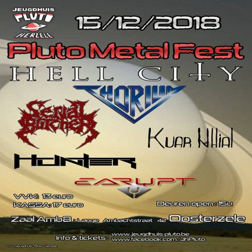 Pluto Metal Fest 2018 review